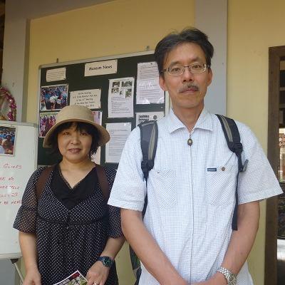 神戸の初田さん夫妻