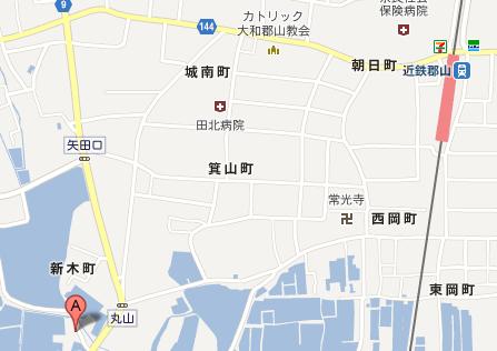 金魚ランド幸田地図