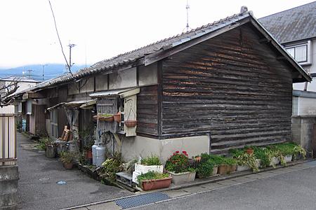 宇美町の炭鉱住宅街01