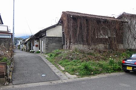 宇美町の炭鉱住宅街02