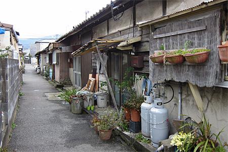 宇美町の炭鉱住宅街07
