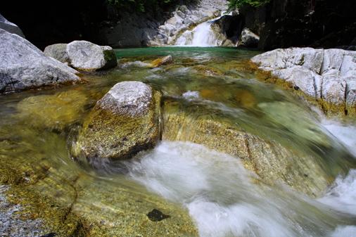 三ツ滝の上段