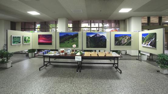 新宿区役所本庁舎ロビー展