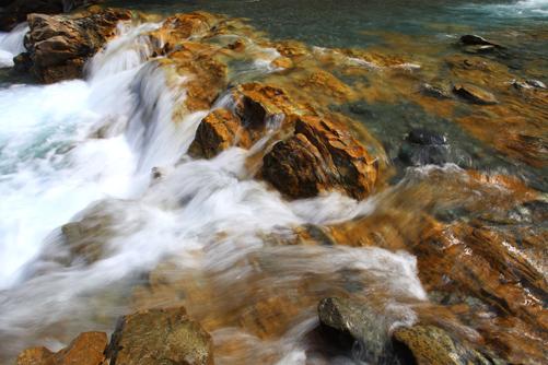 南アルプスの村・大鹿安康地区の青木川