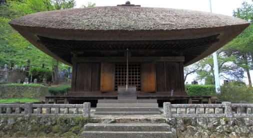 国の重文・中禅寺薬師堂