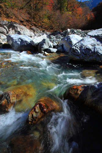 三峰川上流