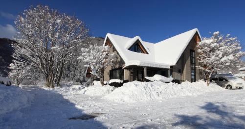 ギャラー雪景色