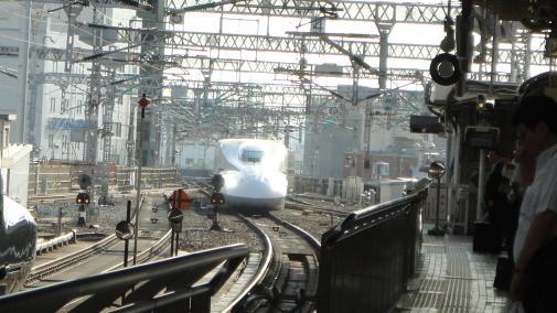 新幹線参る