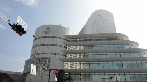 パシフィコ横浜 建物そのもの