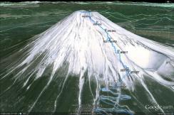 Mt. Fuji 2012 route 2