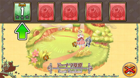 ケリ姫スイーツ_01_ドーナツ平原ステージ2
