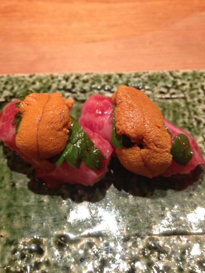 和牛洲&ウニの鮨 和田