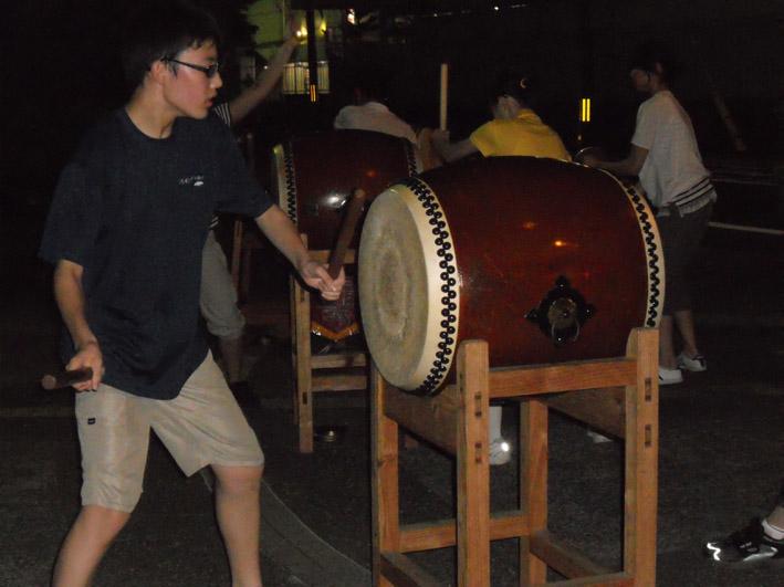 祇園太鼓練習1