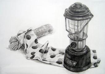 描ランプ340