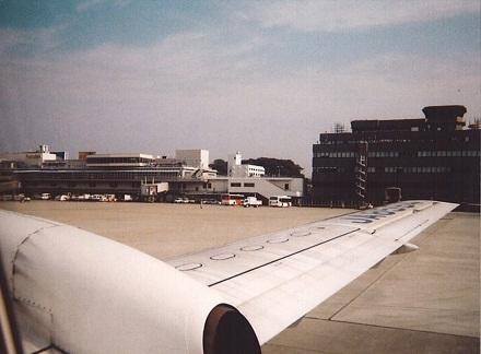 福岡空港 奄美離陸