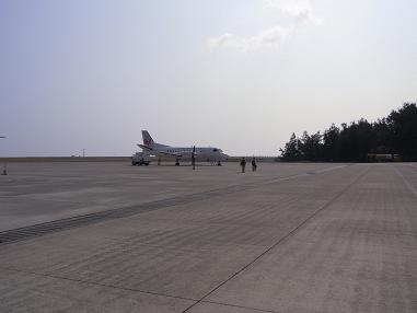 喜界島行き二日目奄美空港
