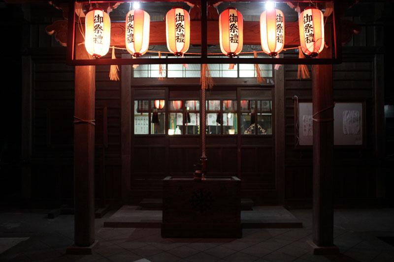 熊野神社初詣 4 130101