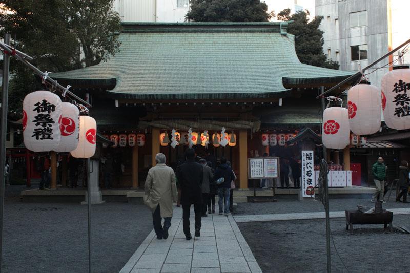 小梳神社社殿 130101