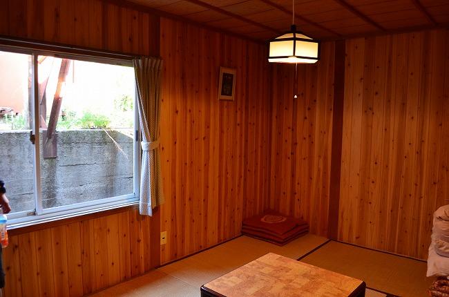 燕山荘個室
