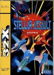 ステラアサルト  32X 【メガドライブ】