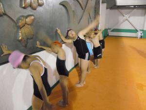 水泳教室10月04