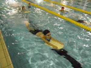 水泳教室10月05
