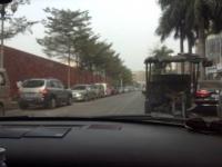 中国で車は・・・