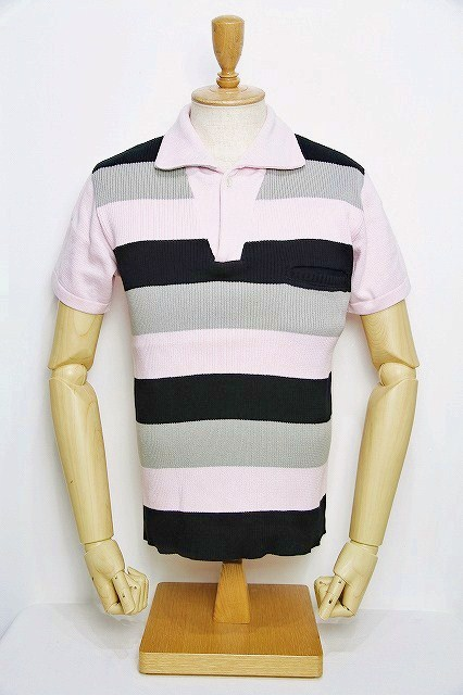 Lot.179 summer knit polo pk