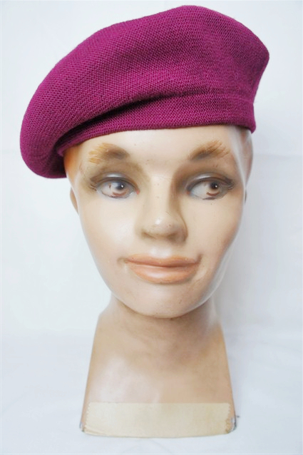 Lot.156 BERET CAP BUR