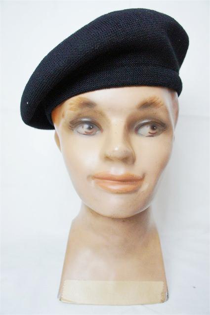 Lot.156 BERET CAP BK