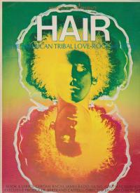 舞台パンフ 「ヘアー(アメリカ)」(1968年)