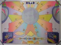 ピーターマックスPeter maxポスター/Head