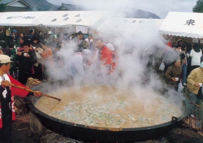 かりんて祭大鍋