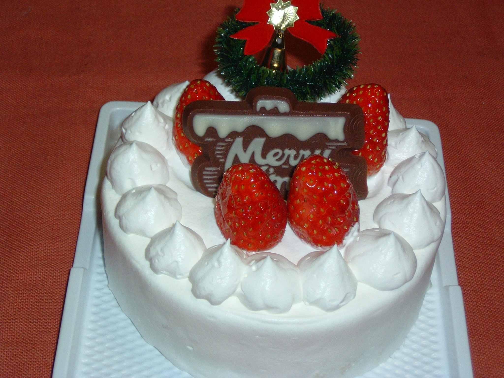 シャトークリスマスケーキ