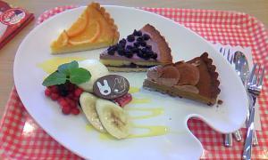 リサとガスパールケーキ