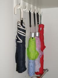 PC050186玄関:折りたたみ傘