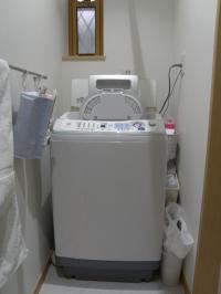 PC050174洗面:洗濯機まわりすっきり