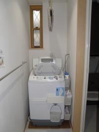 P5150127洗面:洗濯機正面