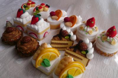 ケーキ集合1