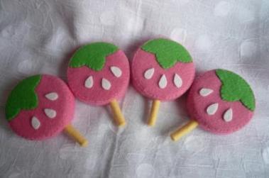 ピンクいちごアイス2