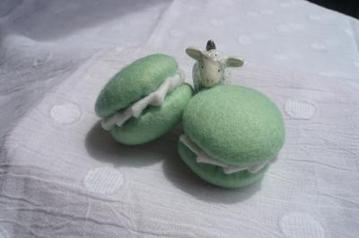 マカロン緑