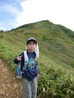 山頂までひと登り