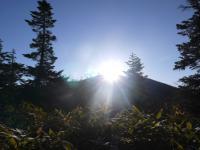 妙高より日の出