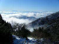 雲海と八ヶ岳