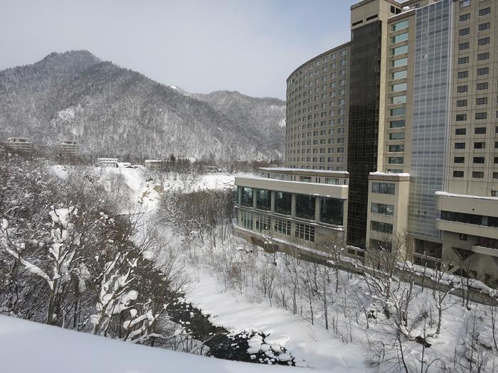 定山渓大橋 ビューホテル 景色