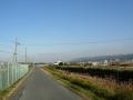 141213平城山から木津川支流の小川を、帰りは対岸を通ってみる