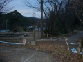 141220関西シクロ開始前、朝のくろんど池