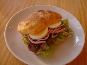 チャバタ サンド