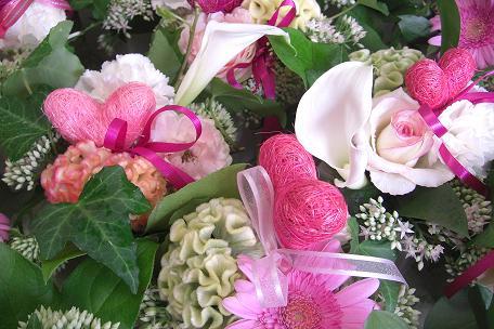 藤井さんプレゼントの花②