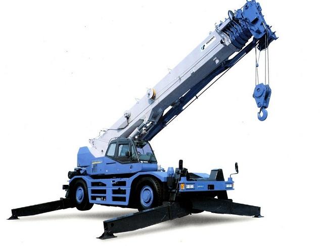 Các loại cần trục và bằng điều khiển cần trục GR-500N-1